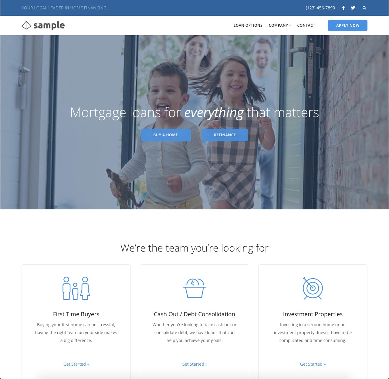 LeadPress Mortgage Websites