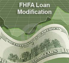 FHFA Loan Modification