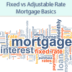 Fixed vs Adjustable Mortgage Rates