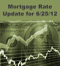Mortgage Rate Update 6-25-12
