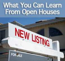 What You Can Learn From Visiting Open Houses